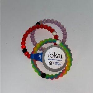 Jewelry - set of 3 lokai bracelets